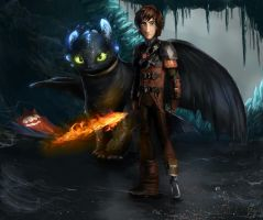 How to Train Your Dragon 2 by DarraChese