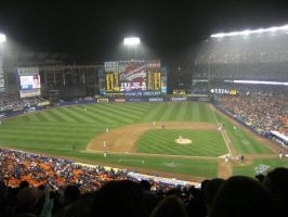 Shea Stadium by jsowinski