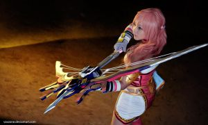 Final Fantasy XIII-2: Serah Farron by vaxzone