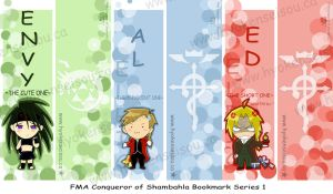 FMA Bookmark Series 1 by Hyokenseisou