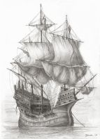 English 'Great Ship' by JanBoruta