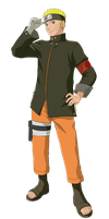 The Last: Naruto Uzumaki Render by xUzumaki