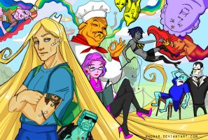 Adventure Time In 10 Years by Khonar