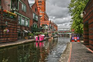 Birmingham Canal HDR by HonestyS2
