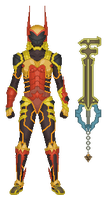 Terra's Keyblade Armour by partiallyBatty