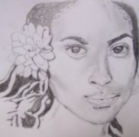 Goapele Black and White by shin03