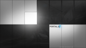 Portal 2 - Wallpaper II by VaultMan
