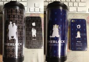 iphone cover and STARBUCKS Tumbler by 403shiomi