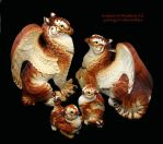 Tiger Griffin Family by Arlla