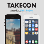 WIP : TAKECON - iOS Theme by taaaake
