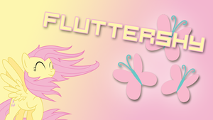 Fluttershy Poster by HaloTheDash