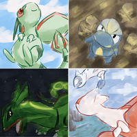 Dragon Types by totodos