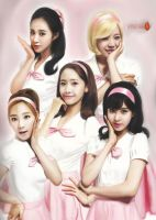 SNSD Speed Painting World Tour 2013 by Foxfire025