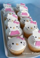 Kitty Cupcakes by Verusca