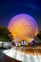 Spaceship Earth Has Flare by shaderf