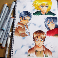 Fav Characters | Attack On Titan by eternalxgyu