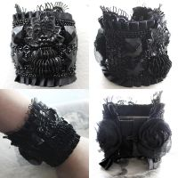 Victorian Mourning Cuff by asunder