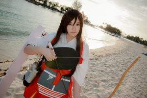 Kantai Collection - Akagi by Xeno-Photography