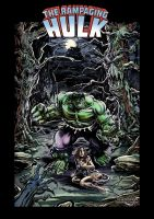 Hulk - Gothic Horror - UPDATE by Simon-Williams-Art