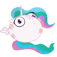 Bubble celestia by zomgitsalaura