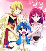 Magi Trio by picopuri