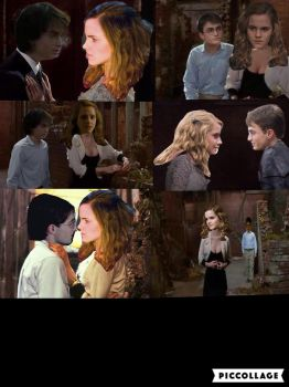 Harry and hermione as seymour and Audrey. by fairiesfly152