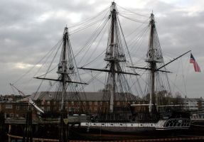 USS Constitution by The-Assistant