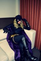 Batgirl Cosplay - Listening... by ozbattlechick