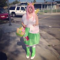 Cosplay Fluttershy by Rainbow-Pastel