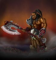 Warlords Of Draenor - Grommash Hellscream by koborquez