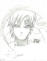 Gaara of the Sand by foreverg