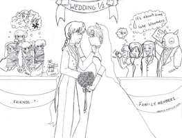 Saotome Tendo Wedding One-Half by vmove