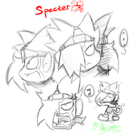 Specter's face. by SecondSaru