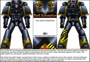 DR: Iron Warriors by Koilungfish