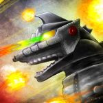 70s heros and villians Mechagodzilla by gfan2332