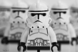Stormtrooper army by solcarlusmd