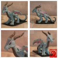 Eragon my Version of Saphira by Luna-cuteXD