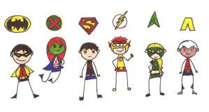 Young Justice by crazygirlreb