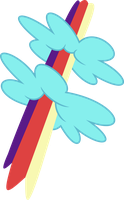 Rainbow Strike's Cutie Mark by demonreapergirl