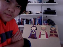 Painting 1 Puppets by jentwice