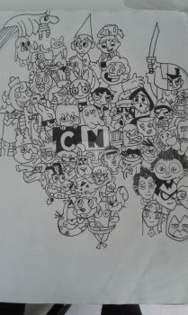 Cartoon network by MeLovesTacos