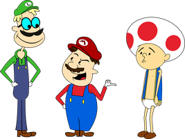 Super Gervais Bros. by DekuGamer
