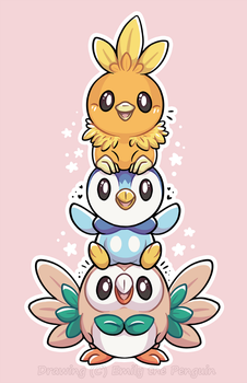 Bird Stack! by OEmilyThePenguinO