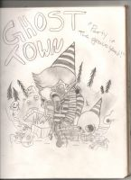 Party in the graveyard by K2BunnyStyleFan