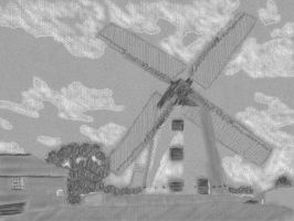 Art Academy 3DS: Windmill by dklproductions