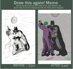 Draw this again Meme- Batman: Dance with the Devil by pisomets