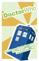 Doctor Who Tardis Poster by SamKent