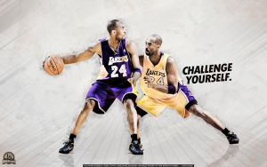 Kobe Bryant 'Challenge Yourself' Wallpaper by lisong24kobe