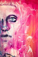 she is too young - face detail by agnes-cecile