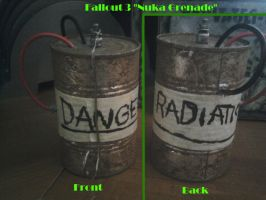 Fallout Props: Nuka Grenade by Lolktnx